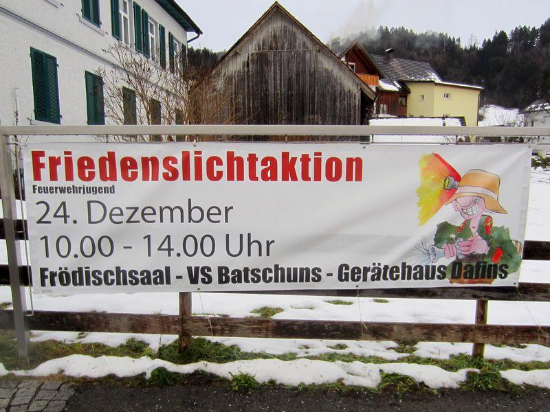 Feuerwehrjugend - Friedenslichtaktion 2013